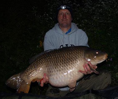 Common Carp – 45lb 4oz